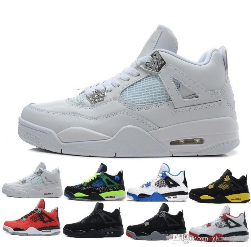 best service b99a5 332c1 Großhandel 2018 Billig Verkauf 4 Iv Basketball Schuhe Sport Turnschuhe  Männer 4 S Schwarz Spiel Royal Blue Schuhe 41 47 Nike Air Jordan Jordans  Retro Retros ...