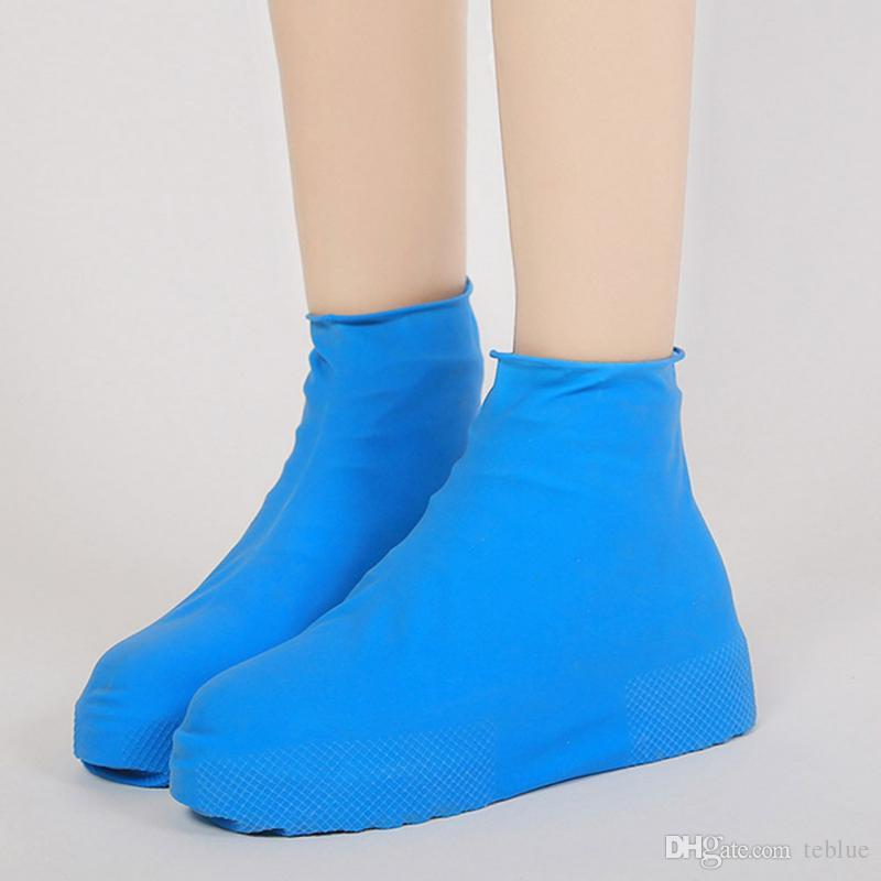 Wholesale Outdoor Hiking Tool Gadgets Anti-slip Reusable Rain Shoe Covers Waterproof Unisex Shoes Overshoes Boot Gear