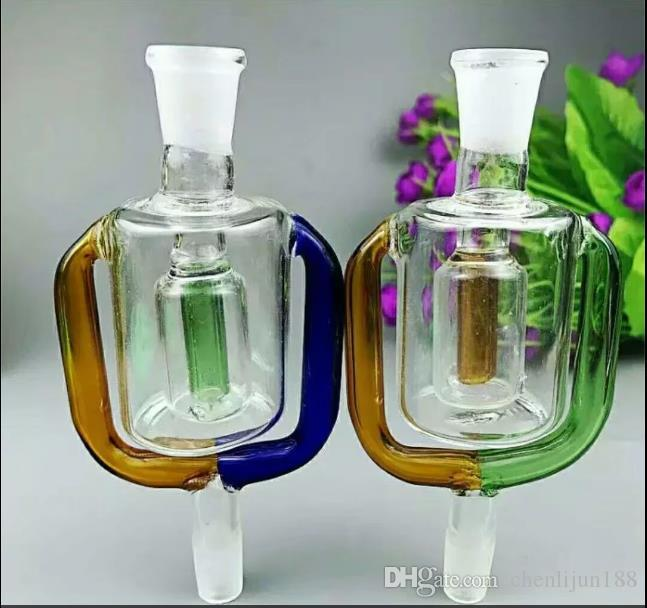 Outer glass filter pot Wholesale bongs Oil Burner Pipes Water Pipes Glass Pipe Oil Rigs Smoking,