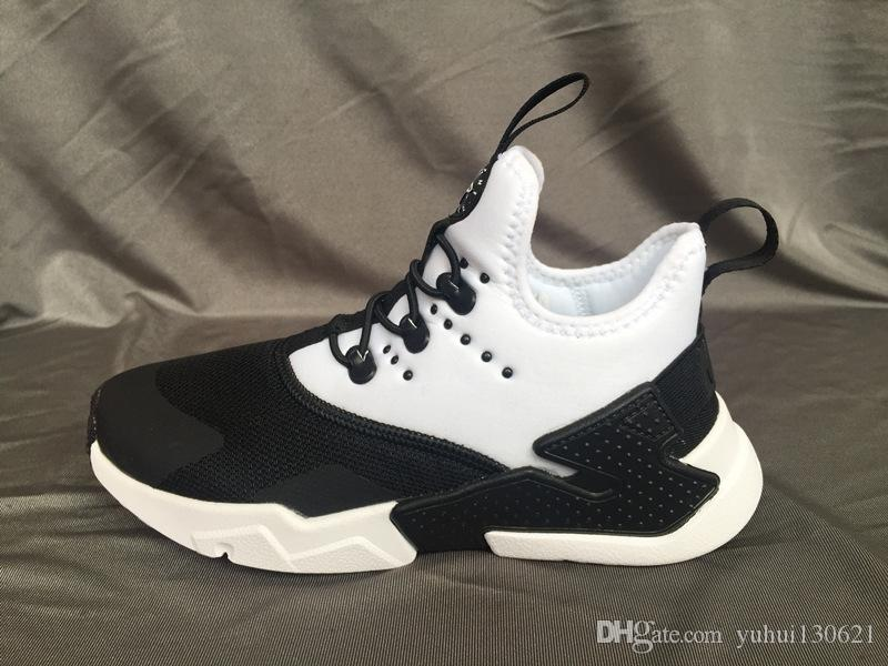 2019 New Air Huarache Running Shoes Trainers Big Kids Boys Girls Men And Women  Black White Outdoors Shoes Huaraches Sneakers Childrens Running Trainers ... 48a484f14