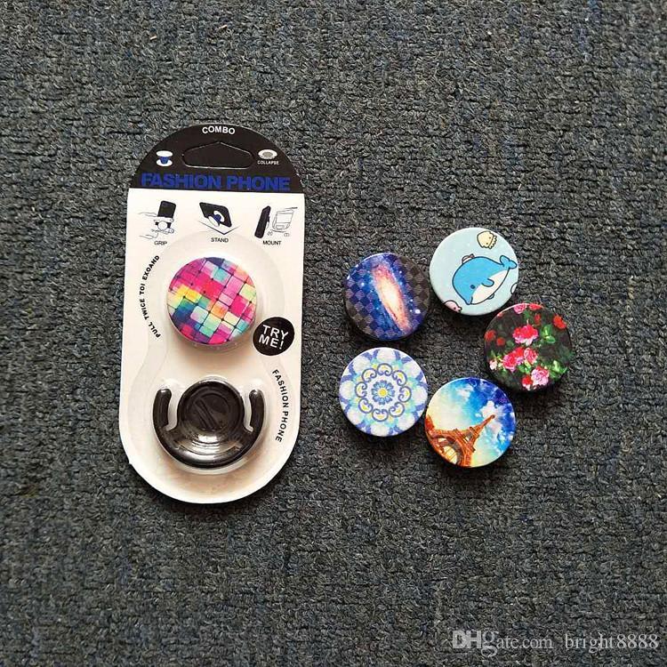 sıcak satış hava yastığı desteği genel amaçlı yeni yenilikçi cep telefonu desteği halka desteği basit moda fabrika doğrudan satış