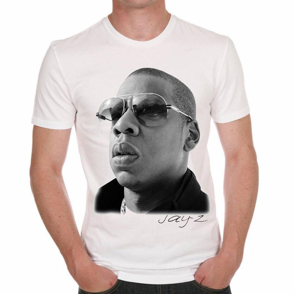 09093d37 Jay Z T Shirt Homme, Manches Courtes, Coton Blanc Cadeau Mens 2018 Fashion  Brand T Shirt O Neck 100%cotton T Shirt Tops Mens Shirt Printed Shirts From  ...