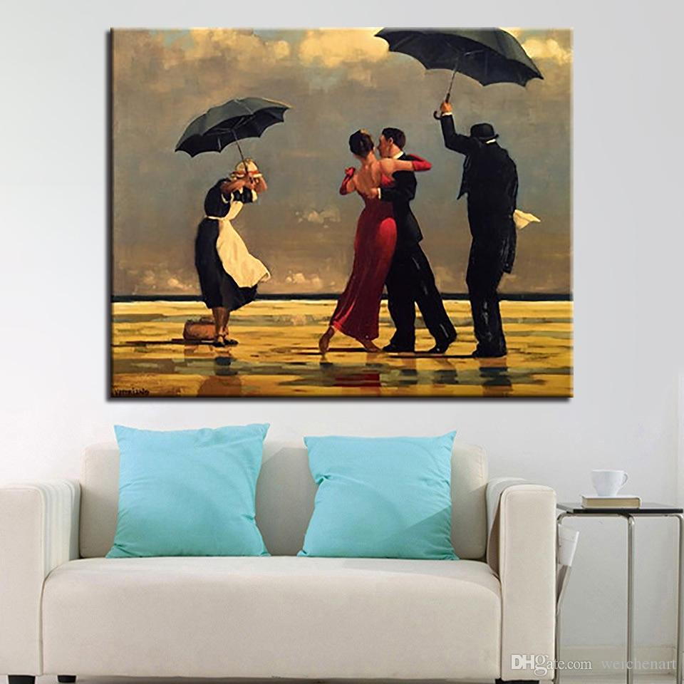 2019 framework diy oil painting by numbers kits coloring tango ballroom  dancing in the quiet rain canvas pictures home decor wall art from  weichenart,