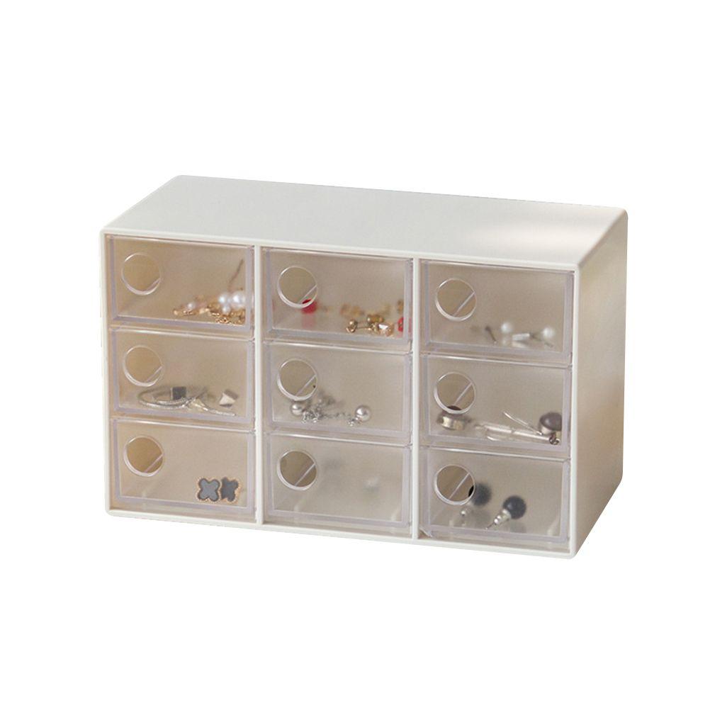 2019 Mini Jewelry Drawer Organizer With 9 Drawers Art Crafts Storage