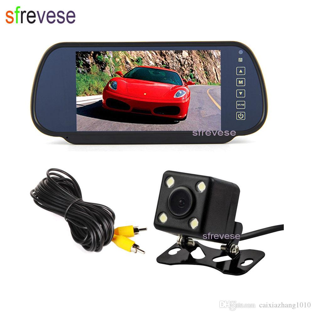 170° Waterproof Car Front View Reverse Backup Reversing Parking Back Up Camera Car Video