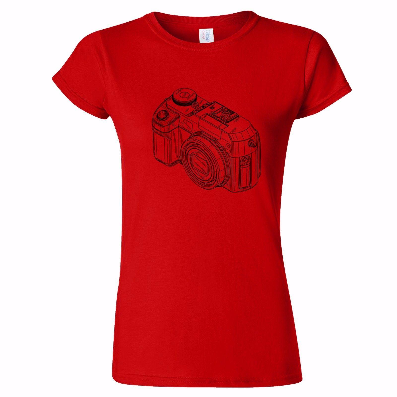 7237928978 DIGITAL CAMERA SKETCH WOMENS T SHIRT PHOTOGRAPHY PHOTOGRAPHER GIFT PRESENT  Shop T Shirts Online T Shirt Shirt From Bangtidyclothing, $10.9| DHgate.Com