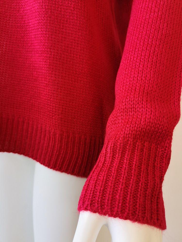 SHERAN Natal Camisola de Gola Alta Mulheres Solto Rua Camisolas de Malha Pullover Moda 2018 Mulheres Coreano Camisola de Grandes Dimensões Jumper