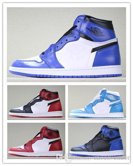 buy online ad185 54464 Großhandel Air J 1 Top 3 Designer Schuhe Turnschuhe Luxus OG Games Royal  Blue Herren Basketball Schuhe Mode Backboard Athletic Sport Schuhe Trainer  Marke ...