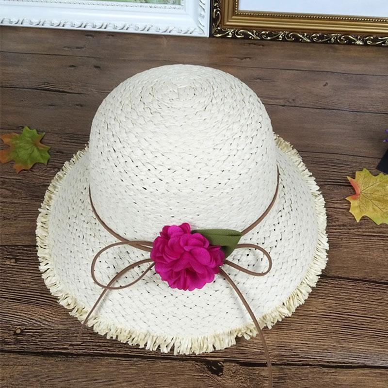 2c4f8327c Summer Female Hat Outdoor Holiday Beach Casual Straw Caps Fashion ...