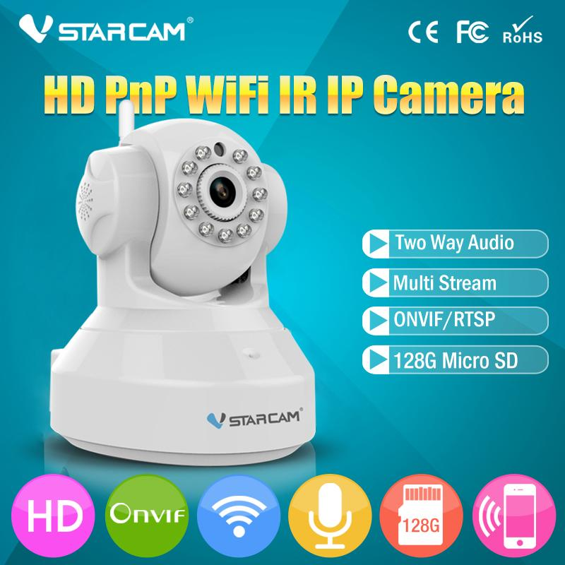 VStarcam C7837WIP Wireless Pan Tilt IP Network Camera WiFi with Two-Way  Audio and Night Vision