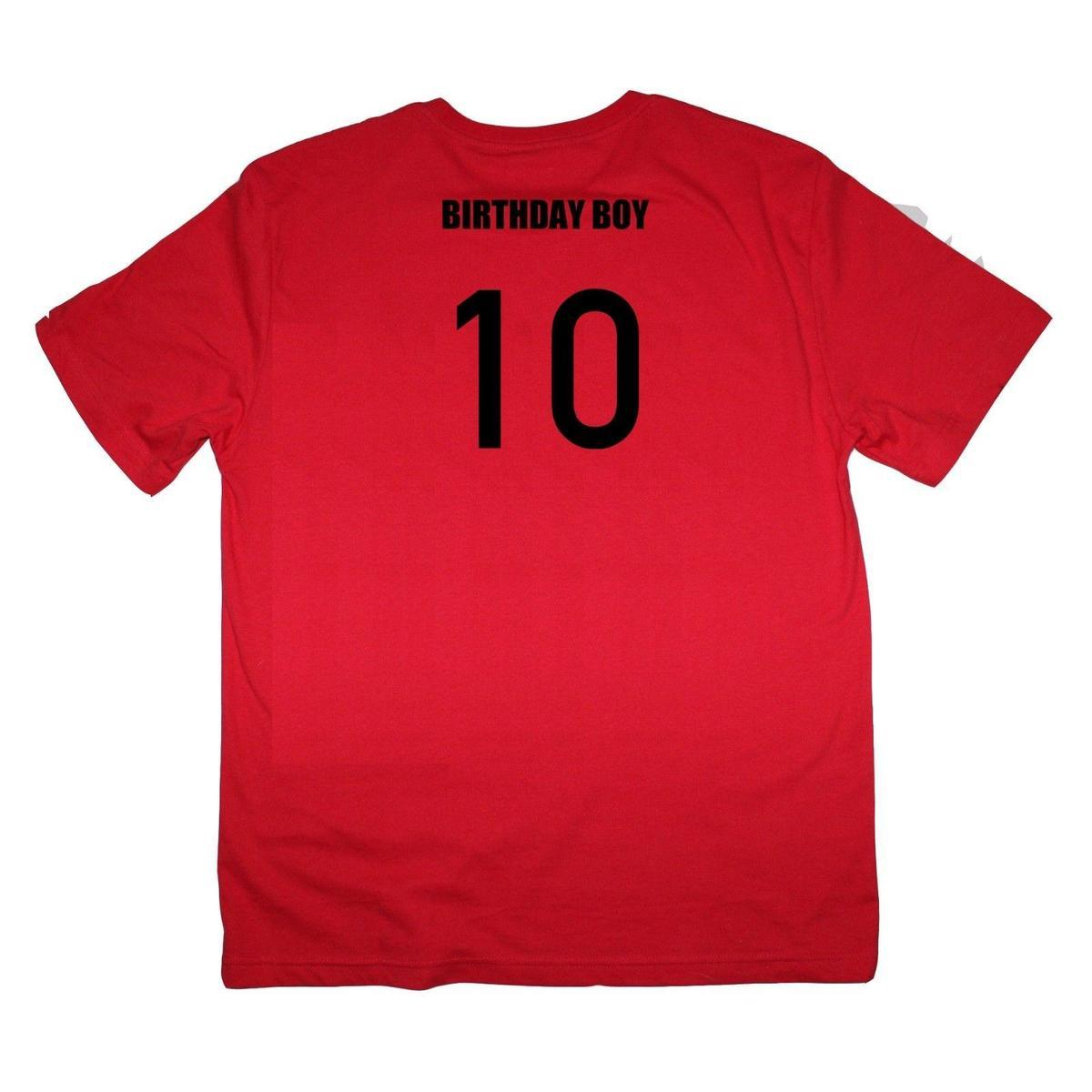 Birthday Boy 10th Tenth Ten 10 Year Old Male Baby Shirt Many Colours Cool Tshirts Retro T Shirts From Lijian046 1208