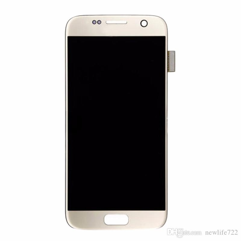 For Samsung Galaxy S7 LCD Display With Touch Screen Digitizer Assembly Replacement Mobile Phone Screen Repair Parts For SM-G930A SM-G9300
