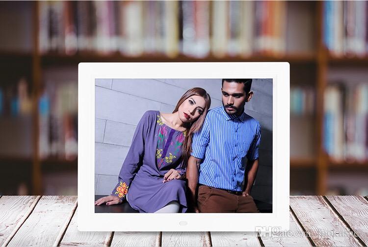 Compre Amplia Pantalla De 15 Pulgadas Marco De Fotos Digital Ultra ...