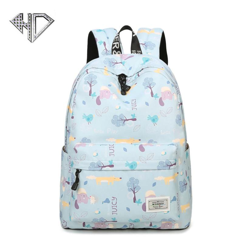 80a6b680013a Women Backpacks For Teenage Teen Girls Canvas Backpack Female Feminine  Backpack School Bagpack College Girl Mochila Female Bags Student Backpack  Fashionable ...