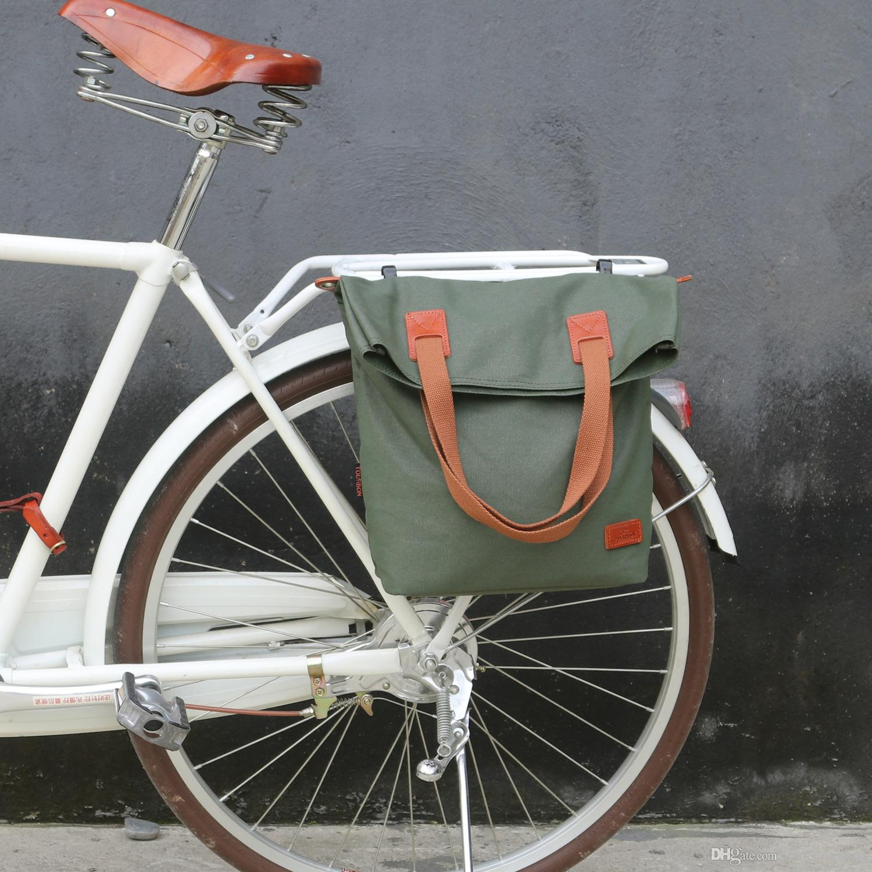 Großhandel Tourbon Retro Fahrrad Tasche Fahrrad Rear Seat ...