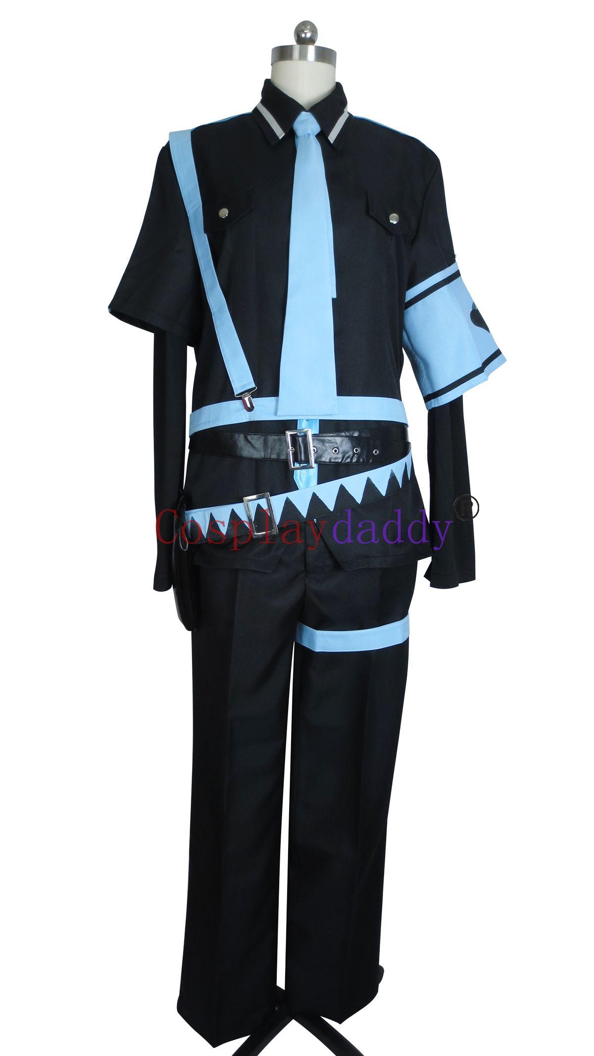 Vocaloid Hatsune Miku Amor é Guerra Halloween Uniforme Terno Traje Cosplay J001