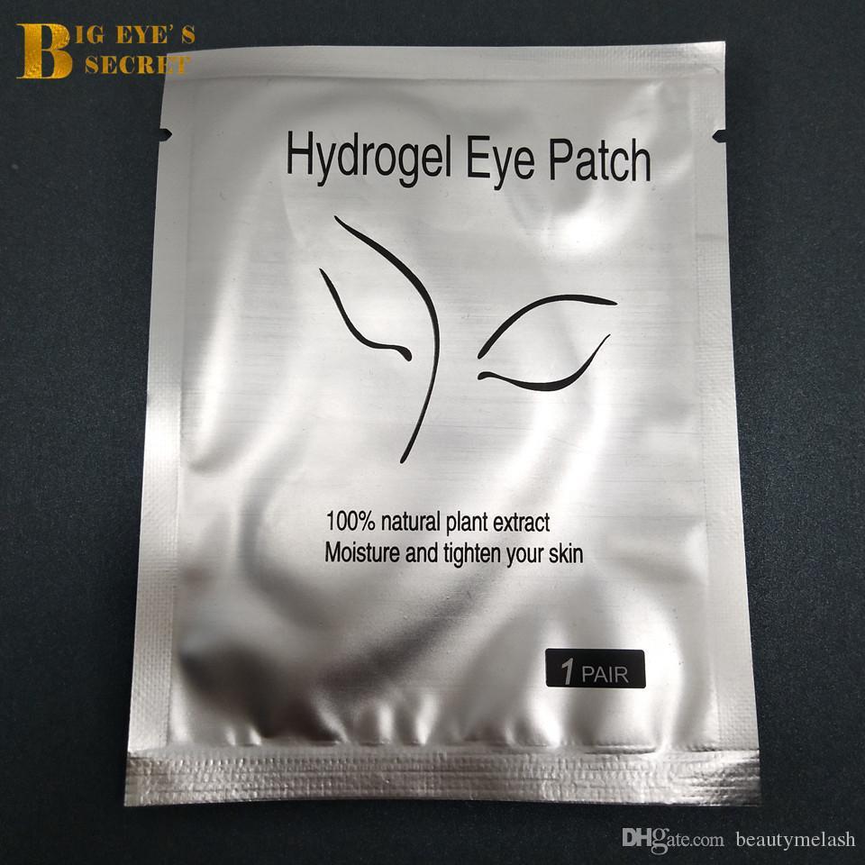 Hot Sale Delicate Eyelash Pads Gel Patch Eye Pads Lint Free Lashes Extension Mask Eyepads Wholesale BIGEYE'S SECRET Makeup tool