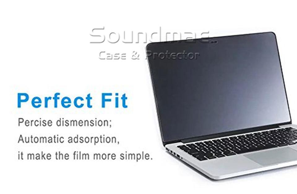 Protecteur d'écran en verre trempé Film HD Cover Guard pour Macbook Air Retina Pro 11 12 13 15 pouces avec emballage de détail Soundmae