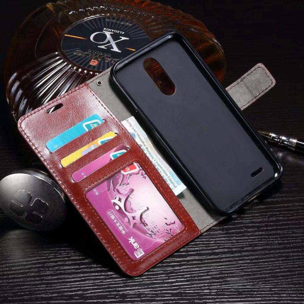 For LG Q6 G3 G5 V10 V30 PU Wallet Leather Case Card Slots Kickstand Frame Phone Case Cover For LG G2 G3 MINI