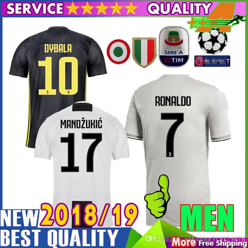 77074b51bb3 AAA Top Quality 18 19 Juventus Home Away 3rd Soccer Jerseys Juventus ...