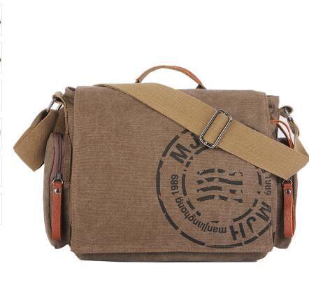 38979f6789 Vintage Men S Messenger Bags Canvas Shoulder Bag Fashion Men Business  Crossbody Bag Printing Travel Handbag 1124 Womens Bags Wholesale Bags From  ...