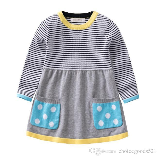 Girls Sweater Clothing Dress 0 5t Kids Baby Knit Clothes Girl Soft