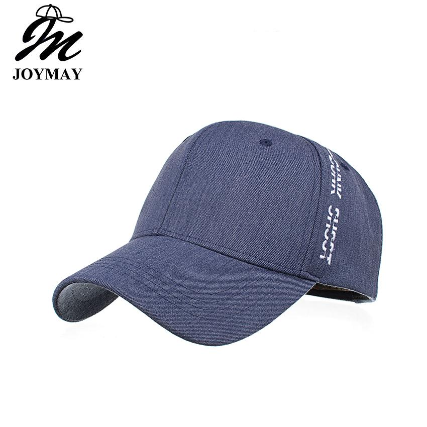 Joymay Baseball Caps For Men And Women NEW ARRIVAL Fashion Leisure Caps  Style Embroidery Cotton Snapback Hat Sport Outdoor Cap B490 Custom Fitted  Hats ... c6562aedab