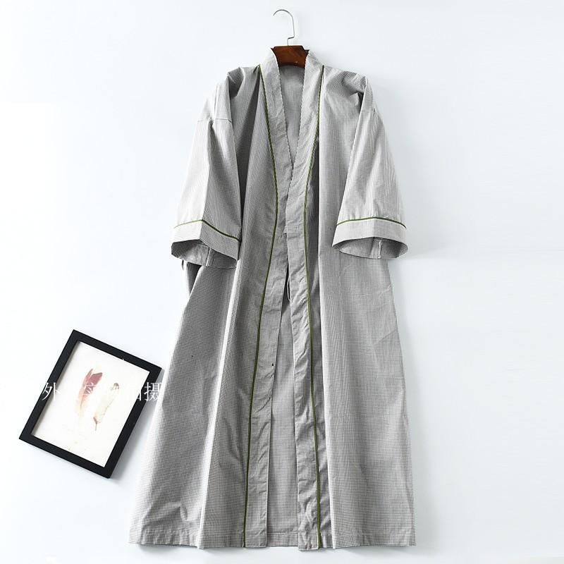 Robes Men Short Sleeve Cotton Nightwear Men Pyjamas Mens Sleep ... 44ced8aae