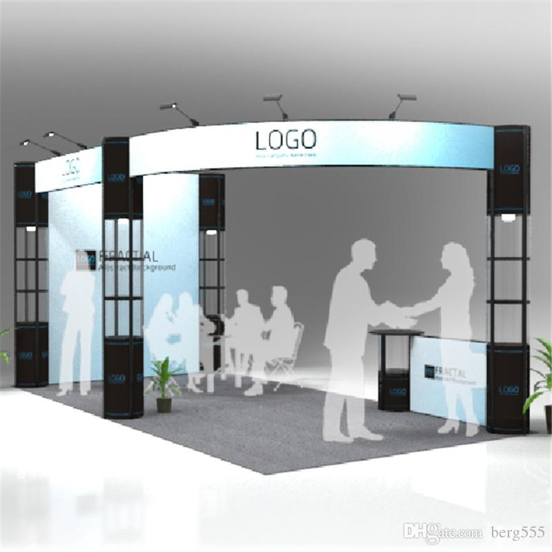 Normal Exhibition Booth Size : Standard ft ft exhibition booth trade fair display stand