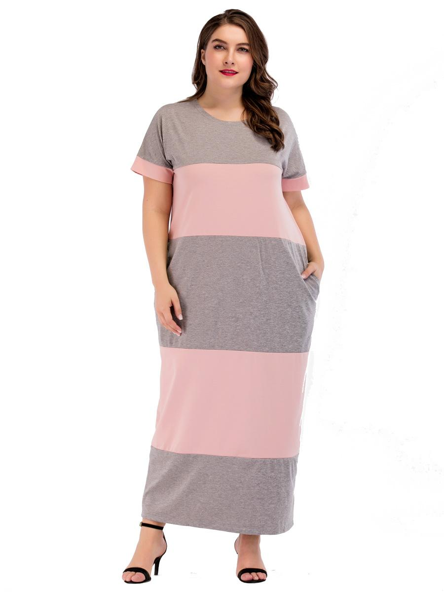 aa2c2e6798f9f 185216 Mujer Musulman Large Size Euramerica Plus Size Dress Middle ...