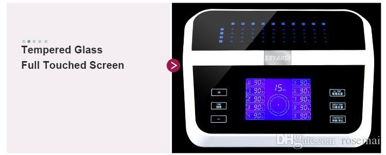 살롱 디지털 헤어 페름 기계, 스타일링 도구, 팬텀 디럭스 에디션, 색상 레드 사용
