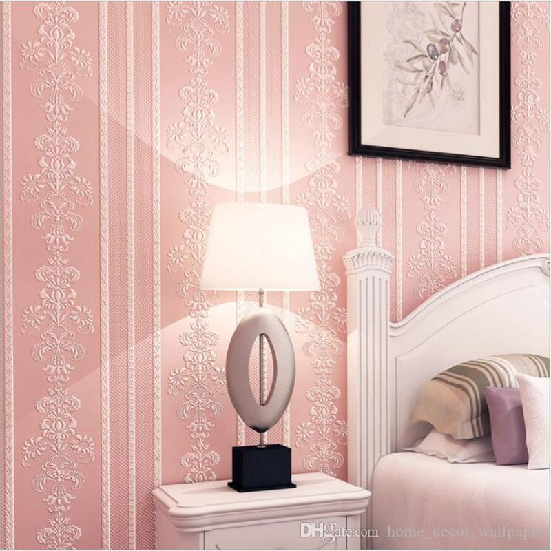 3d Embossed Flower Wallpaper Desktop 3d Pink Floral Wallpaper Roll ...