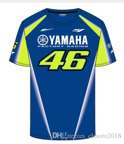1eb36d12c165 2019 Valentino Rossi VR46 46 Motocross Jerseys Bike Cycling Racing  Motorcycle Bicycle Moto For Yamaha QUICK DRY Short Sleeve T Shirt5 From  Clmoto2018