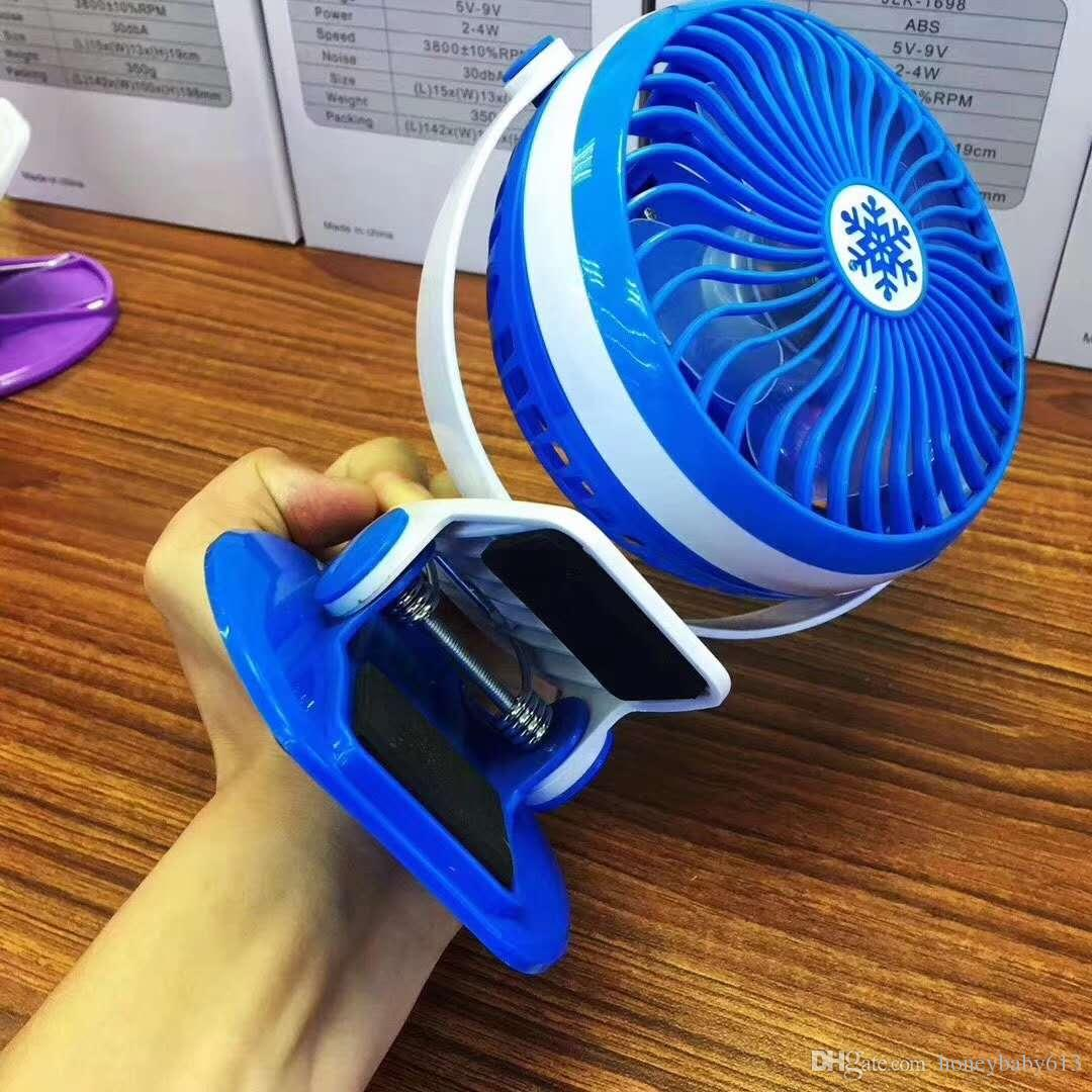 2019 Mini Fan Bed Portable Mute Student Hostel Clip Office USB Electric Fan  Table Wall Hanging Table Folder Fan Without Battery From Honeybaby613,