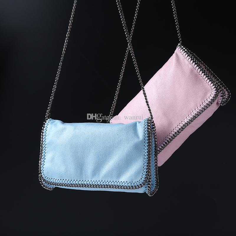 499c94879b9d ! Hot Sale FALABELLA Stella Shaggy Deer Classical Chain Bag Fold Over Lady Shoulder  Bag Vintage Handbags Black Purses From Wanrui st