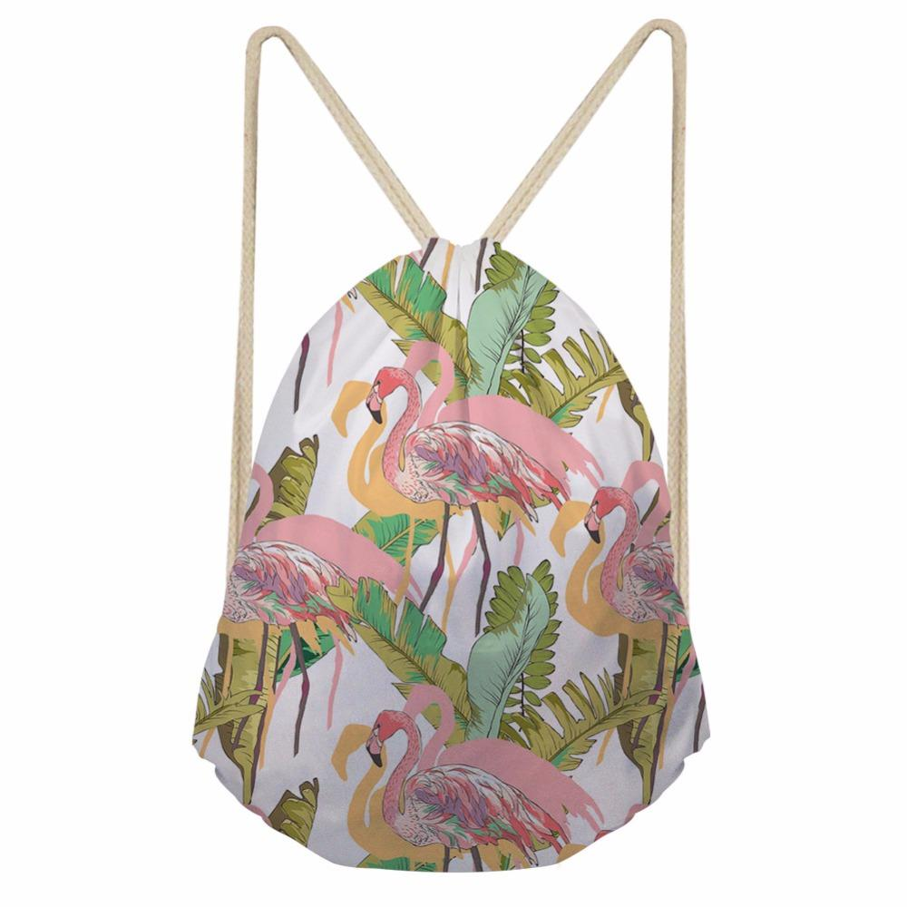 2019 Noisydesigns Red Crowned Crane Beautiful Newest Bear School Drawstring  Bag Couple Lover Shoe Backpack Pocket String From Teaberry e2b3e109c