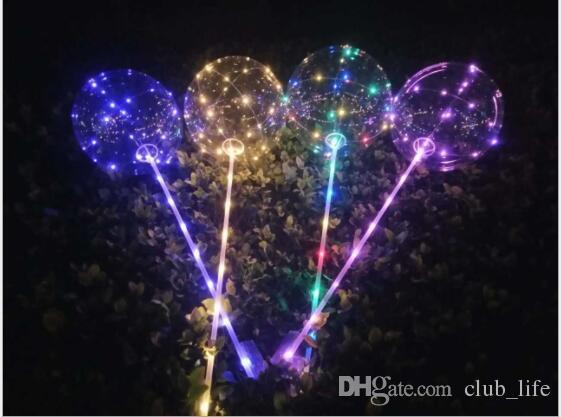 Ballonnen Met Licht : Großhandel luminous bobo balloons led licht ballon zoll ballons
