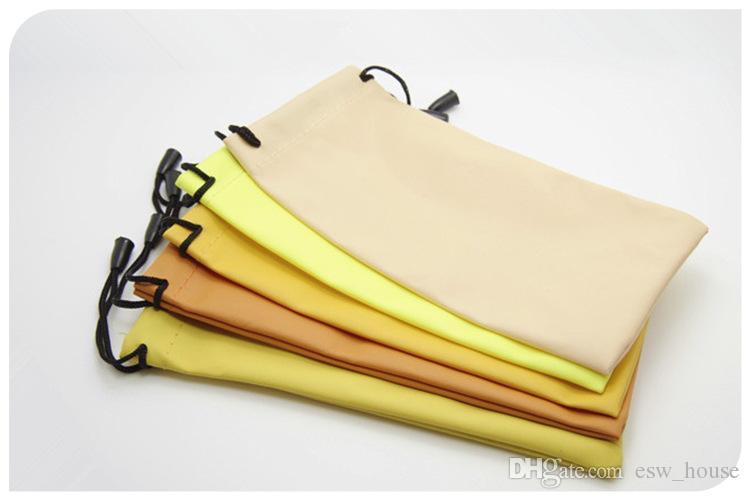 متعددة الوظائف لينة قماش تنظيف نظارات شمسية حقيبة الحقيبة الغبار نظارات تخزين النظارات البصرية حالة الحاويات شحن مجاني