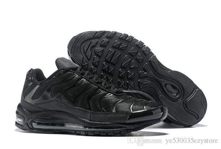 Acquista 2018 NEWS Nike Air Max Airmax 97 E TN 97 TN Scarpe Da Donna Scarpe  Da Uomo La Corsa Femminile Scarpe Da Uomo Triple Scarpe Da Uomo Vendita  Calda A ... 22ee0e8fc92