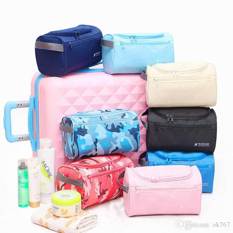 bc8dd3ed80b0 Outdoor business men and women portable travel waterproof large capacity  wash bag set cosmetic bag Organizer Case Necessaries Toiletry Bag