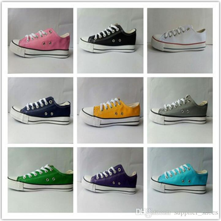 4190337e35 New Size35-46 Low High top Casual Shoes Style sports stars chuck Classic  Canvas Shoe Sneakers conve Men Women Canvas Shoes retail