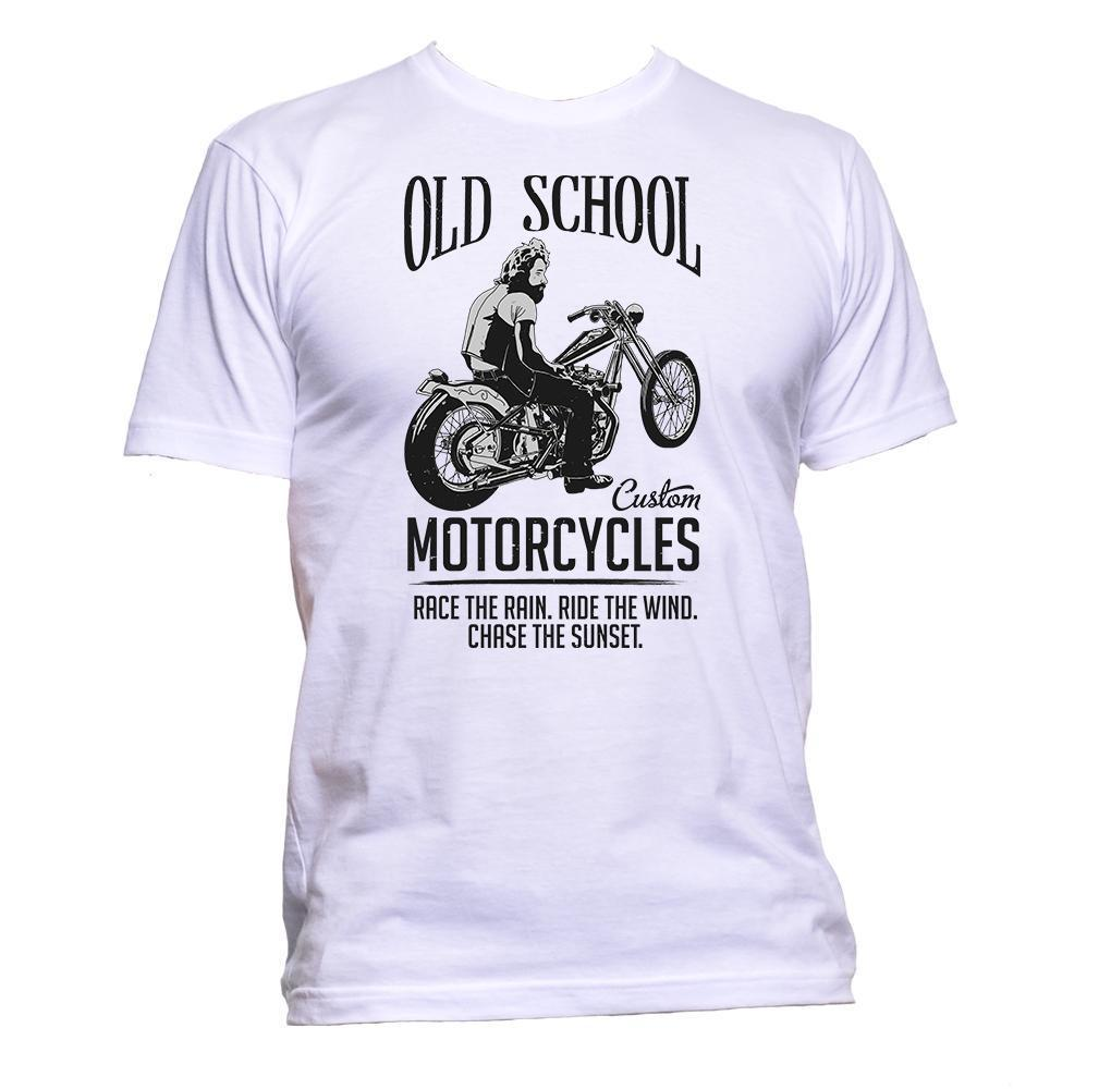 4e5ef2201 Custom Motorcycle Old School Race T Shirt Mens Womens Unisex Fashion Slogan  Cool On T Shirt Tourist Shirts From Down2lift, $11.01| DHgate.Com