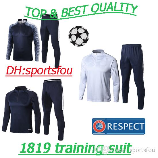 72e7343723f 2019 Thai Maillot De Foot 18 19 Ligue 1 Football Professionnel Soccer  Jerseys Survetement Maillot Equipe De France Football Tracksuit Shirt Kit  From ...