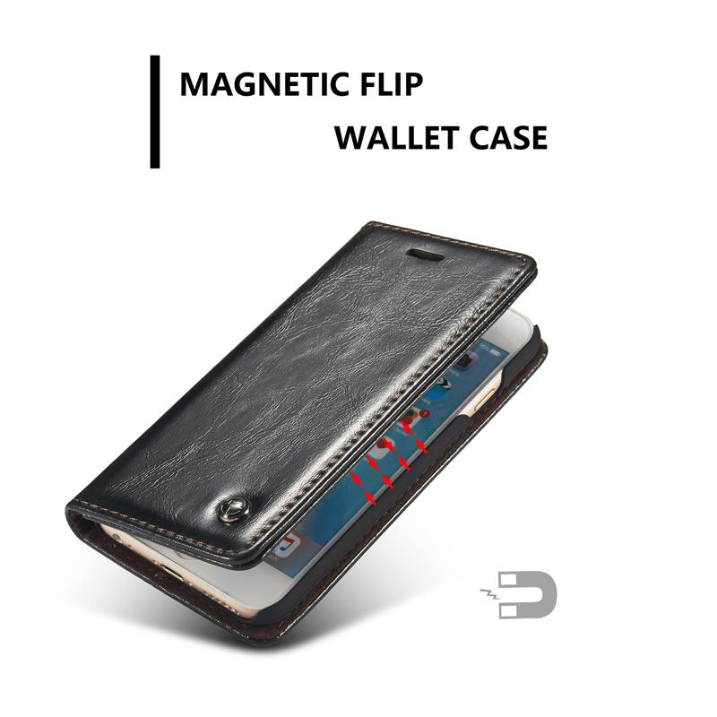 78a298924825 Caseme Brand Case For Iphone 6 Plus 6s Plus Magnetic Flip Wallet Leather  Case For Iphone 6 6s /5 5s Se Premium Folio Cover Case Tough Cell Phone  Cases Cell ...