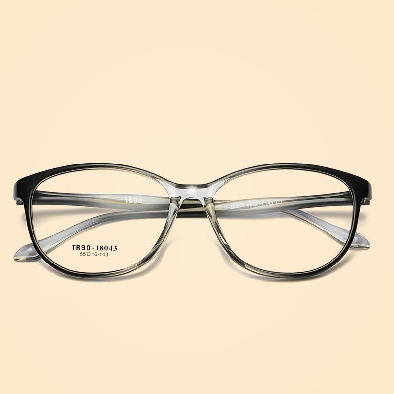 Compre Vazrobe TR90 Transparente Óculos Homens Mulheres Olho De Gato  Armações De Óculos Gradiente De Cor Prescrição Óculos Moda Vintage De  Milknew, ... adc0bc7e9a