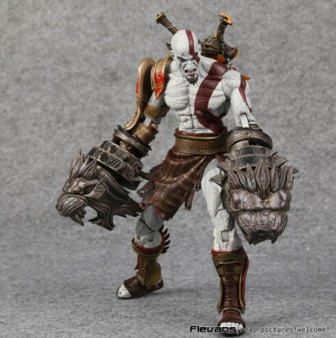 Humorous Hot God Of War 3 Ghost Of Sparta Kratos Pvc Action Figure Neca Collectible Model Toy 22cm Action & Toy Figures
