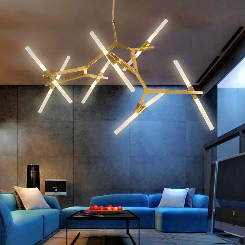 Acheter Moderne Led Lustre D éclairage Plafond Luminaires Salon