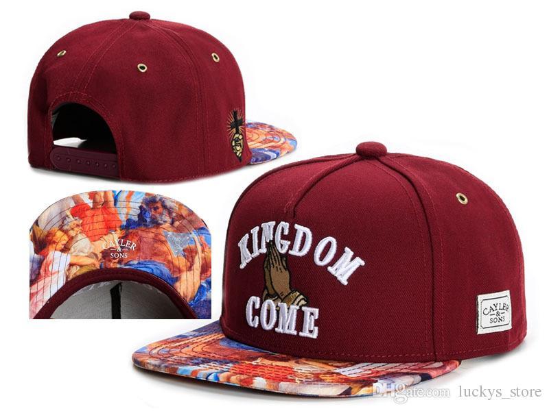 Cayler Sons New snapbacks cap Brooklyn Embroidery hats top Snap back Baseball football basketball custom Caps adjustable size drop Shipping