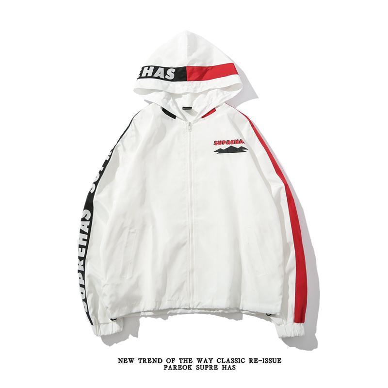 67827e5dda Men s Jacket Stitching Contrast Color Windbreaker Designer Jacket High  Quality Long Sleeve Brand Coat for Man Women Mens Jacket Mens Clothing Coat  Online ...