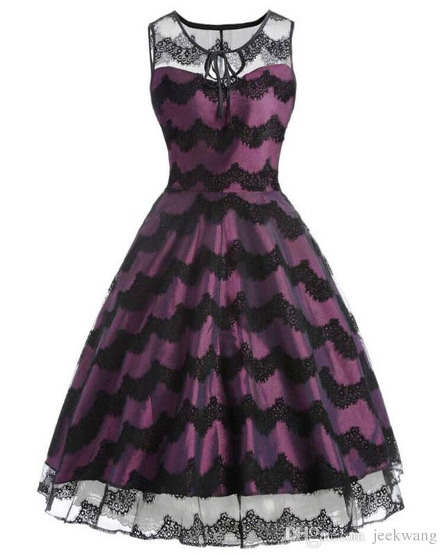 Wholesale 1950s Vintage Retro Dresses Audrey Hepburn Retro 50s 60s ...